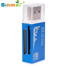 Advanced sd card reader  memory stick pro duo  USB 2.0 All in 1 Multi Memory Card Reader For Micro SD TF M2 MMC 1PC