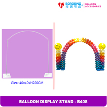 B408  Wedding Decoration metal  balloon arch stand