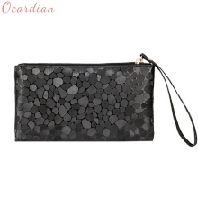 Fashion Hot New Women Coins Change Purse Clutch Zipper Zero Wallet Phone Key Bags Drop Shipping(China)
