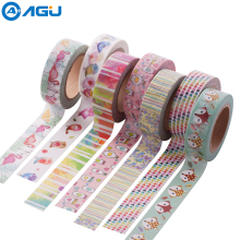 AAGU 2017 New Arrival 1PC 15mm*10m Cute Fox Pattern Washi Tape Single sided Adhesive Tape Scrapbooking Diary Paper Tape Sticker