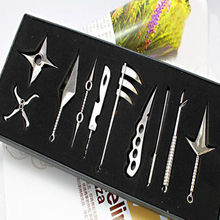 10pcs Naruto weapon model full set of COS weapons