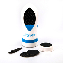 Portable Electric Two-Speed Foot Callus Skin Remover Exfoliator Pedicure Foot Smoothing Tool Kit Peeling Foot Massager