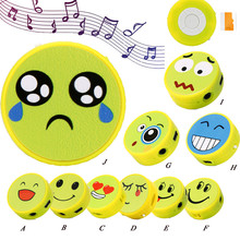 Cute Emoji Design Mini Portable Sport MP3 Player Support Micro SD TF Card Music Media Player With USB Data Cable(China)