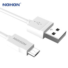 Original NOHON Micro USB Cable For Samsung Xiaomi Meizu Nokia LG Sony Huawei Android Phones DV MP3 Fast Charging Data Sync Cable(China)