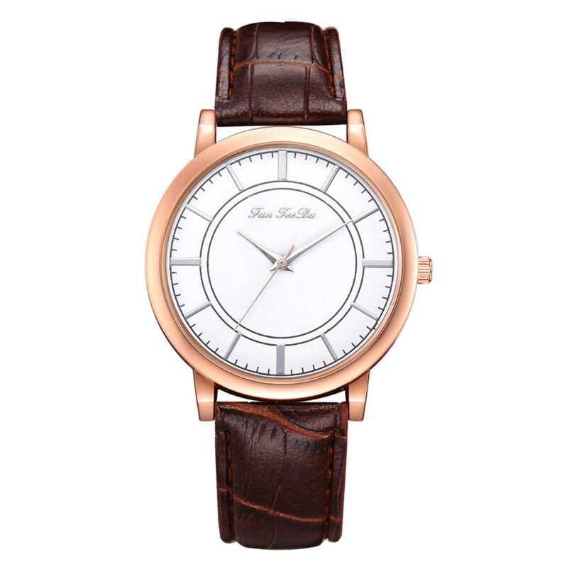 2018 High Quality women fashion casual watch luxury dress ladies  Analog Quartz Leather bands Wrist Watch clock Relogio Y11 (11)