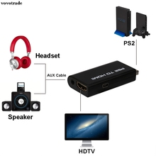 vovotrade PS2 To HDMI Audio Video AV Adapter Converter w/3.5mm Audio Output For HDTV Hot(China)