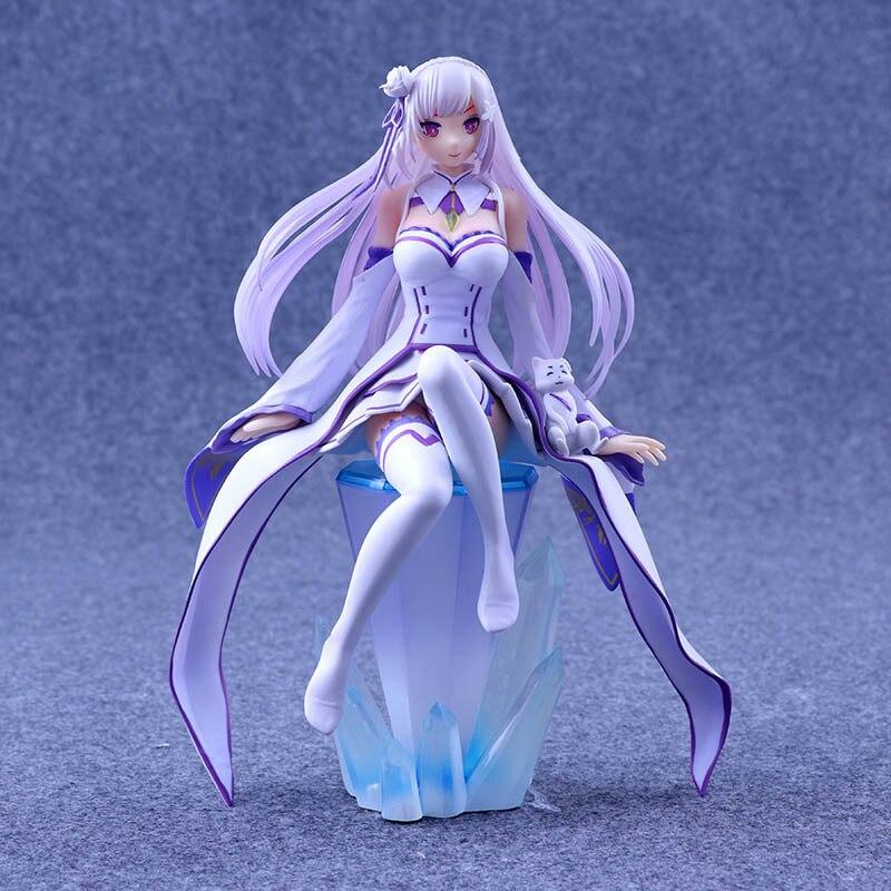 Anime Re Zero Kara Hajimeru Isekai Seikatsu E Brinquedos PVC Action Figure Sexy Girl Figure Collection Model Toys Doll 22cm<br>
