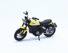 1:18 Maisto Ducati SCRAMBLER Yellow Motorcycle Bike Model New in Box