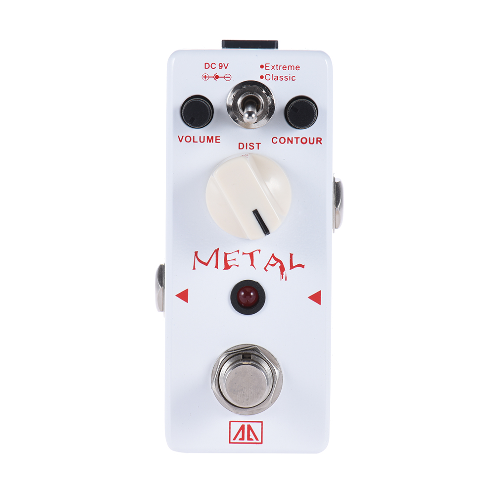 AROMA Classic Heavy Metal Distortion AHOR-5 2 Modes Guitar Effect Pedal Aluminum Alloy Body Guitarra Accessory<br>