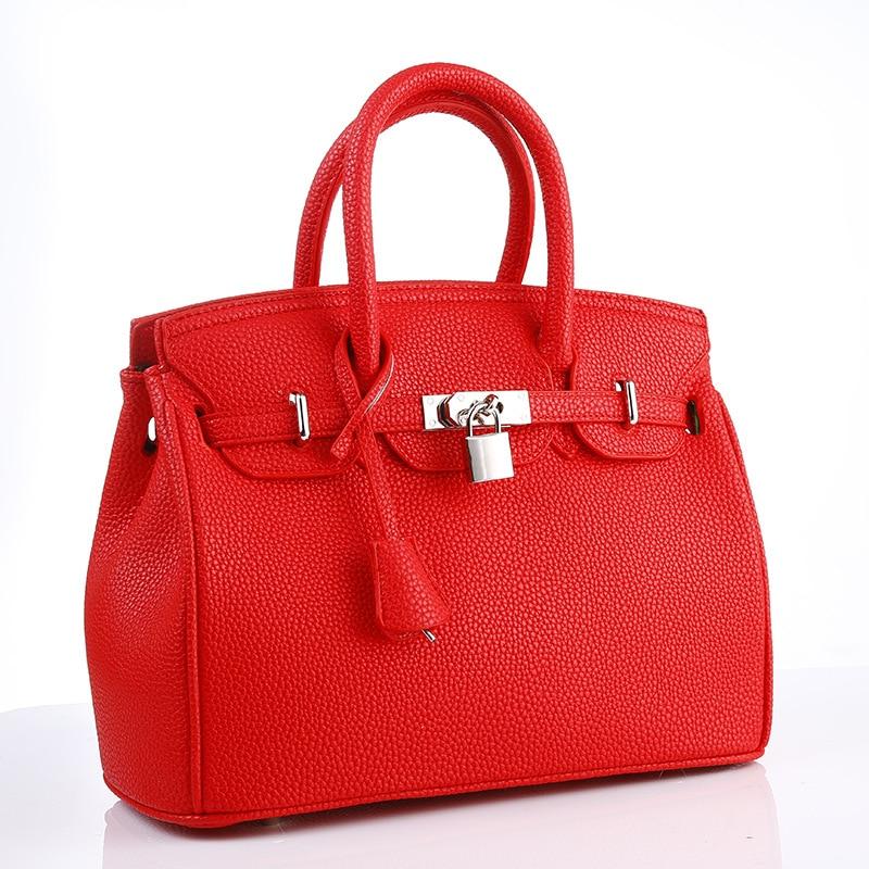 Jooz New Luxury Lock Hand Bags Leather Women Handbags Top-Handle Ladies Shoulder Bags 2018 Red Pink Women Messenger Bags<br>