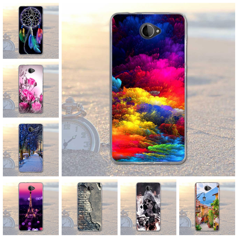 for Nokia Microsoft Lumia 650 Animal Scenery City Pattern Rubber TPU Soft Cover For Mobile Phone Protective Case For Lumia 650(China)