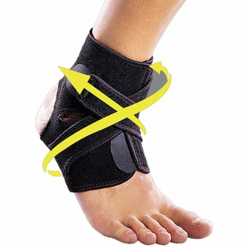 Высокое Качество Ног Лодыжки Брейс Регулируемый Эластичный Поддержки Лодыжки Дышащий Wrap Pad Спорт Боли Лодыжки Защиты Brace