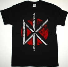 Free Shipping men T-Shirt Dead Kennedys Logo cotton t shirt summer style men's top tees(China)
