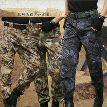 Men Cargo Casual Pants Combat SWAT Army Active Military Tactical Pants IX7 Army Camouflage Trousers AU Men Sportwear Camo Pants(China)
