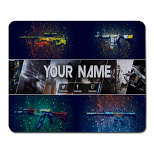 Stitched Edge CS GO Design Gaming Rubber Mouse Pad Laptop Large Mousepad Notebook Computer New Game Mice Mat For Christmas Gifts