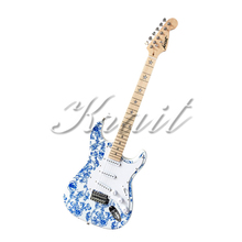 Krait Factory light  beatiful body  stratocaster 6 string electric guitar smooth neck custom-made free shipping