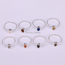 5PCS ZYZ181-0196 Natural Titanium Drop Stone Quartz Crystal Women Rings Drusy Raw Bezel Stone Wedding Silver Color Female Rings(China)