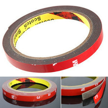 1x 6MM Double-sided Adhesive for Automobile Interior Thin Waterproof Car tape Acrylic foam double sided tape car-styling