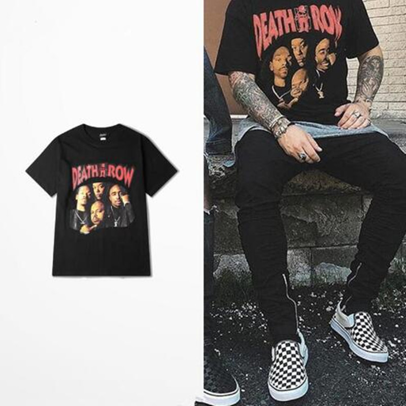 Tops & Tees New Autumn And Winter Notorious Big 2pac Eazy Tupac T Shirt Men Hip Hop Skateboard 2pac T-shirt Be Novel In Design
