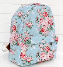 stacy bag hot sale best seller women printing backpack sky blue youth girl floral backpack women flower canvas travel backpack