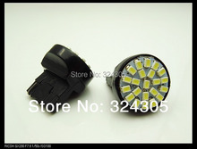 100 pcs T20 7440 WY21W 22 3020 LED 1206 SMD car stop brake light reversing backup lamp turn steering direction indicator lamplet