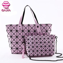 GAJIA 2017 New hollywood trend women high quality brand designers handbags holographic bao bao bag,best gift for her