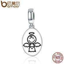 Buy BAMOER New Arrival Authentic 925 Sterling Silver Guardian Angel Charms Pendant fit Bracelet & Necklaces Women Jewelry SCC328 for $6.85 in AliExpress store