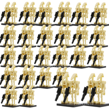 Single Wholesale Star Wars 100pcs Battle Droid Figure Starwars Model Set Building Blocks kits Brick Toys for Children(China)