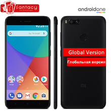 "Global Version Xiaomi Mi A1 MiA1 Snapdragon 625 Smartphone 4GB 64GB Fingerprint FDD 5.5"" Android One Dual 12.0MP Camera FCC CE"