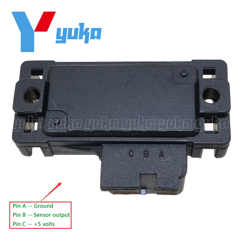 100% Test MAP Sensor Intake Air Boost Pressure Manifold Absolute Druck  Sender For Volvo S40 S70 V40 V70 1.6 1.8i 2.0 2.5 ddd25cb203b