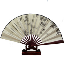 2017 new summer wind fan China silk cloth folding tourist hot fan manufacturers spot wholesale lettering