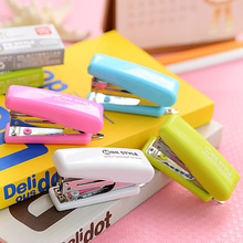 Deli Book Manual Cute Mini Stapler With 1 Gif Staple Office Gadgets School Supplies For Kids Student Gift