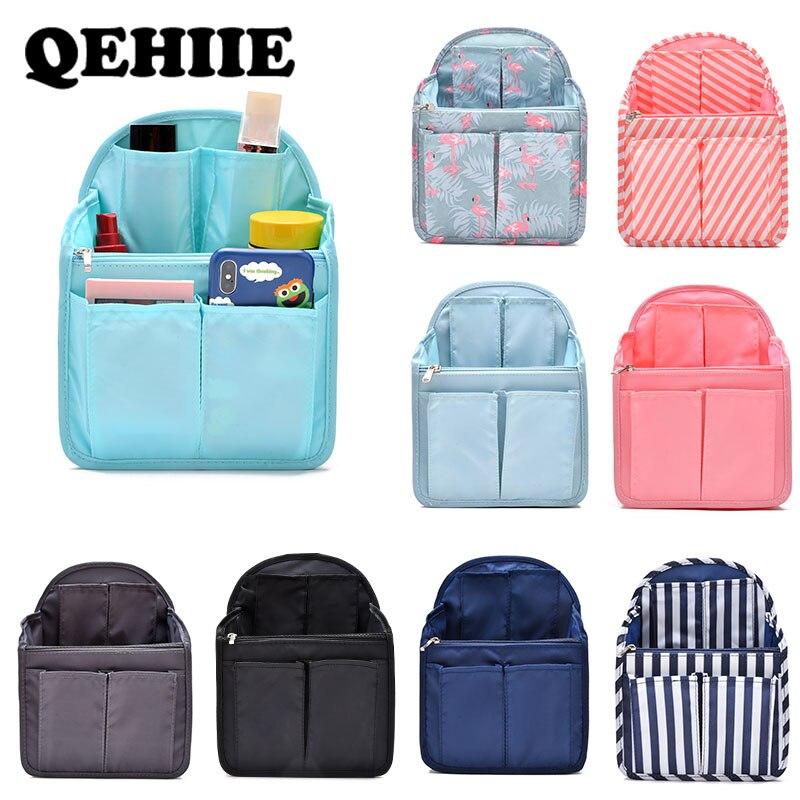 Packung mit 2 Filzeinsatz Organizer Bag Handtasche Halter Multi Pocket