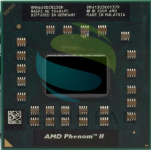 AMD Phenom Dual-Core Mobile N660 HMN660DCR23GM 3.0Ghz notebook CPU laptop processor M340 M360 P320 P340 N350 N370 p520