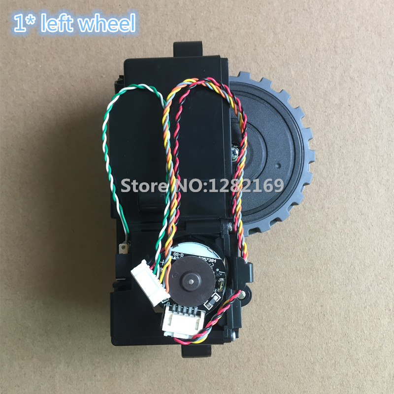 1 piece Robot Vacuum Cleaner Parts Left Wheel replacement for ilife v7 V7s Robotisc Sweeper<br>
