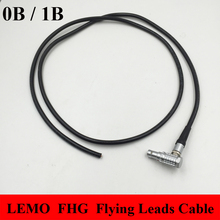LEMO Connector FHG Right Angle Elbow Male Plug 0B 1B 2 3 4 5 6 7 8 9 10 14 16 Pin Connector Welding Cable Flying Leads Cable