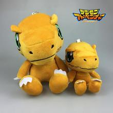 Digimon Agumon Plush 10cm/18cm Anime Digimon Adventure YAGAMI TAICHI Agumon Plush Stuffed Toys Doll for Kids Children Gifts