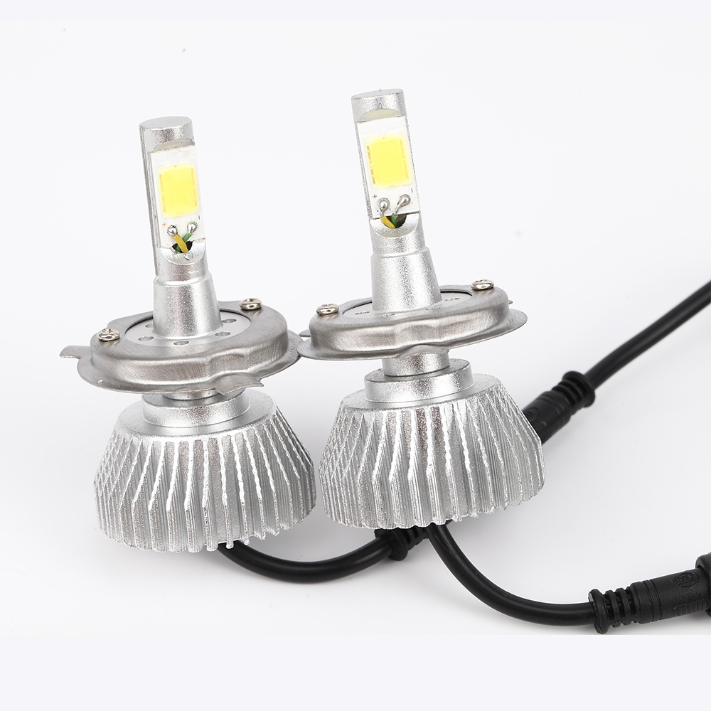 Car LED H4 Headlight Xenon White 9004 9007 H13 Headlamp Hi/Lo Beam Automobile Light Source 60W 4400Lm Super Bright Plug&amp;Play<br><br>Aliexpress
