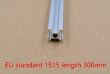 1515 aluminum extrusion profile european standard white length 300mm industrial aluminum profile workbench 1pcs