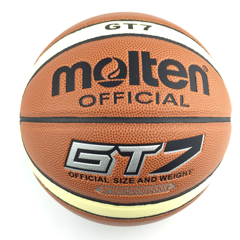 Genuine Molten GT7 Basketball PU Material Official Size7 Basketball Original Molten Basketball Ball GT7 NEW Brand High Quality(China (Mainland))