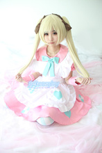 Anime Axis Power APH  cosplay England Rosa Kirkland cosplay girls sweet Maid costume Halloween party Lolita Maid dress