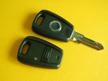 New 1 Button Remote Key Shell Case For Fiat In black With GT15R Fob Blank Car Cover 10PCS/lot