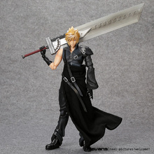 PlayArts KAI Final Fantasy VII Cloud Strife PVC Action Figure Collectible Model Toy 26cm FFFG006