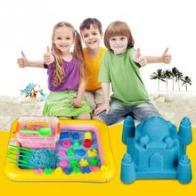 Inflatable Sand Tray PVC Mobile Table For Children Kids Indoor Playing Sand Clay Color Mud Toys Accessories Multi-function(China)