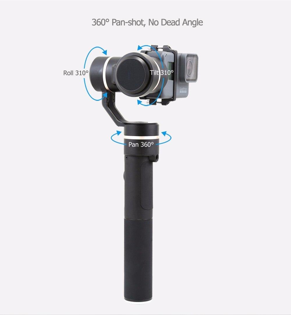 FeiyuTech Feiyu G5 Splash Proof waterproof 3-Axis Handheld Action Camera Gimbal For GoPro HERO 6 5 4 3 3+ Xiaomi yi 4k SJ AEE 8