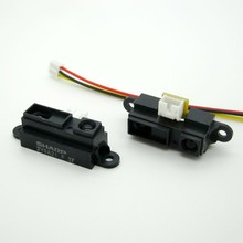 GP2Y0A21YK0F 2Y0A21 Sharp IR Analog Distance Sensor free Cable Compatible Arduino 10PCS