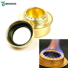 Portable Mini Lightweight Alcohol Stove Copper Alloy Ultralight Spirit Burner Outdoor Camping Furnace Alcohol Lab Equipment New