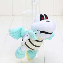 19cm Super Mario Bros Plush Flying Winged Dry Bones Soft Toy Stuffed Animal Retail(China)
