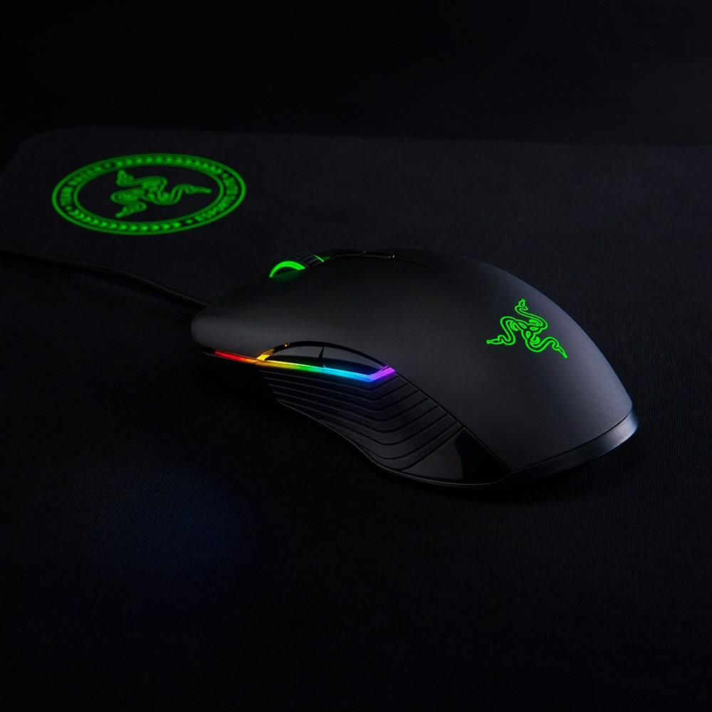 Razer Kraken Essential Over-Ear Game Headset+Lancehead Tournament Edition Wired Gaming Mouse eSports gaming sets with Mic for PC