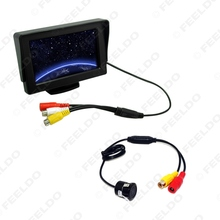 4.3 inch TFT LCD Digital Stand-alone Monitor + Reversing Backup Camera Car Rear View System #FD-3776